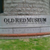 Photo taken at Old Red Museum by Vic S. on 1/24/2012