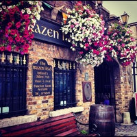 Photo taken at The Brazen Head by amaia o. on 8/6/2012