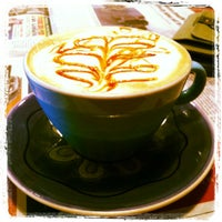Photo taken at Timothy's World Coffee by Hannah on 9/13/2012