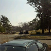 Photo taken at Gillette Ridge Golf Club by Mike M. on 3/18/2012