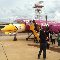 Photo taken at Nok Air (DD) Domestic Check-In Area by KEEKIE on 6/26/2012