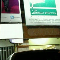 Photo taken at Zaitun Selaparang Hotel by budi s. on 10/20/2011
