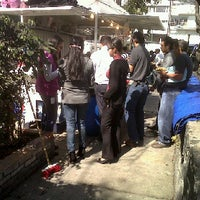 Photo taken at Tacos & Quecas de la Cruz Roja by Alito C. on 1/12/2012