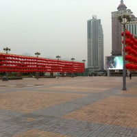 Photo taken at Chaotianmen Sq by Michael C. on 2/8/2012