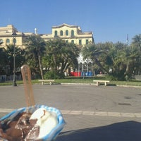 Photo taken at Piazza Anco Marzio by Miss Jane on 8/28/2011
