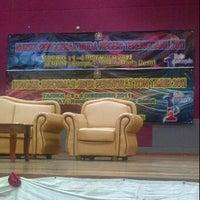 Photo taken at Dewan Besar Kompleks Rakan Muda,Besut by Shamsul Fazily H. on 12/4/2011