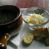 Photo taken at L'Eden Cafe by Stoney L. on 1/14/2012