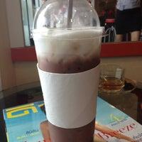 Photo taken at Kala Coffee by Orangejuice J. on 3/8/2012