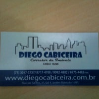 Photo taken at Diego Cabiceira IMÓVEIS by Diego C. on 7/12/2012