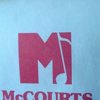 Photo taken at McCourt's Music by Howard C. on 9/10/2012