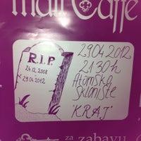 Photo taken at Mali Caffe by Jadro L. on 4/29/2012