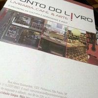 Photo taken at Ponto do Livro by Natalia M. on 11/4/2011