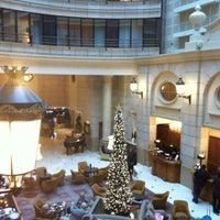 Photo taken at Paris Marriott Champs-Élysées Hotel by S L. on 12/29/2011