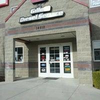 Photo taken at Gillett Diesel Service Inc. by Jacob B. on 3/23/2012