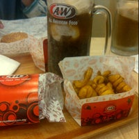 Photo taken at A&W by iman's s. on 6/16/2011