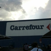 Photo taken at Carrefour by Richard T. on 8/11/2012