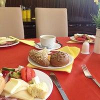 """Photo taken at Hotel Manes - Restaurace """"V Hotylku"""" by Mihai B. on 5/3/2012"""