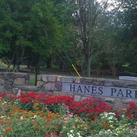 Photo taken at Hanes Park by Richard C. on 9/28/2011