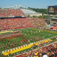 Photo taken at Jack Trice Stadium by Andy Y. on 9/12/2011