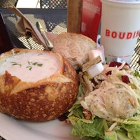 Photo taken at Boudin SF San Marcos by Jeanine M. on 5/7/2012