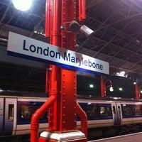 Photo taken at Platform 1 by sinister p. on 11/9/2011