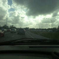 Photo taken at I-95 at Ives Dairy Road by Jojo C. on 12/4/2011