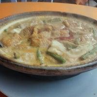 Photo taken at Restoran Kari Kepala Ikan Tiga by lee w. on 11/28/2011