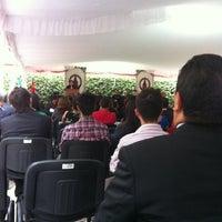 Photo taken at Centro Universitario Incarnate Word by Belén P. on 6/1/2012
