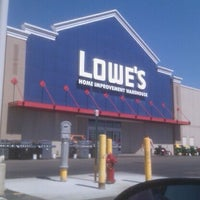 Photo taken at Lowe's Home Improvement by Jeremy N. on 8/26/2011