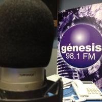 Photo taken at Genesis 98.1 FM by J.C. O. on 8/7/2012