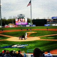 Photo taken at Fifth Third Ballpark by Ashley Y. on 4/14/2012
