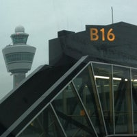 Photo taken at Gate B16 by Frans v. on 10/31/2011
