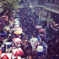 Photo taken at Silom Road by mylucks K. on 4/14/2012