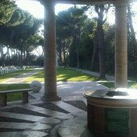 Photo taken at Cimitero Di Guerra Del Commonwealth by Mirco F. on 3/22/2012