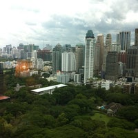 Photo taken at The Athenee Hotel, a Luxury Collection Hotel, Bangkok by Joo L. on 9/2/2012