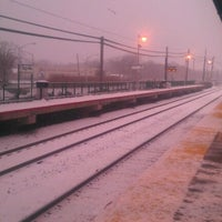 Photo taken at LIRR - Sayville Station by Patrick M. on 1/21/2012