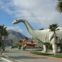 Photo taken at Cabazon Dinosaurs by Taylor F. on 4/27/2012