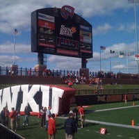 Photo taken at Houchens Industries-L.T. Smith Stadium by Lewatis M. on 10/1/2011