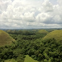 Photo taken at The Chocolate Hills by Joseph Y. on 9/19/2011
