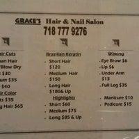 Photo taken at Grace Hair & Nail Salon by Naya G. on 12/8/2011
