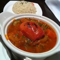Photo taken at Hanci Turkish Cuisine by Lorena V. on 1/10/2012