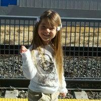 Photo taken at Palmdale Amtrak (PMD) by Jennifer K. on 11/26/2011