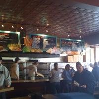 Photo taken at Aniello's Pizzeria by Karin M. on 4/23/2011