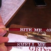 Photo taken at Grind Burger Bar & Lounge by Lio P. on 1/19/2012