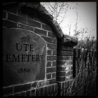 Photo taken at Ute Cemetery by Folami S. on 10/19/2011