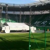 Photo taken at Stadion Wrocław by Heiko B. on 9/6/2011