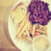 Photo taken at B'Steak Grill & Pancake by Mark Ryan K. on 8/13/2012