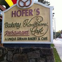 Photo taken at Hofers Bakery by Lu V. on 10/13/2011