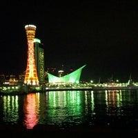 Photo taken at Kobe Port Tower by Takayuki E. on 12/4/2011