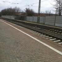 Photo taken at Bahnhof Nierstein by Patrick W. on 3/13/2011